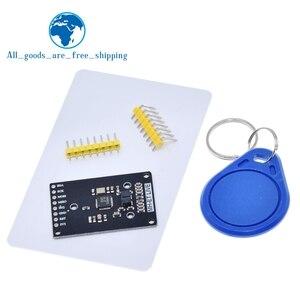 Image 1 - Module RFID RC522 mini Kits S50 13.56 Mhz 6cm avec étiquettes SPI écrire et lire pour arduino uno 2560