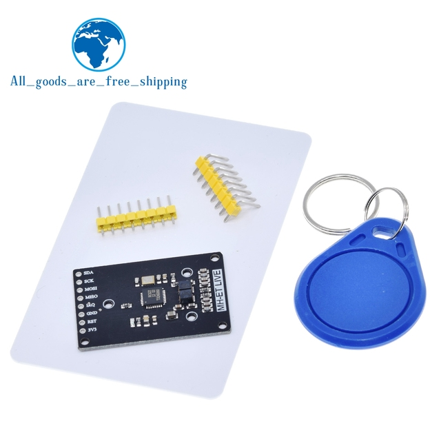 Module RFID RC522 mini Kits S50 13.56 Mhz 6cm avec étiquettes SPI écrire et lire pour arduino uno 2560