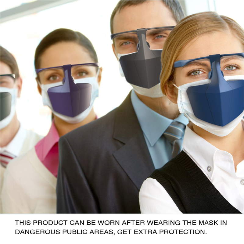 Anti-virus Isolation Face Shield Face Mask Anti Splash Shield, Droplet Proof Virus Shield Screen Protective Equipments