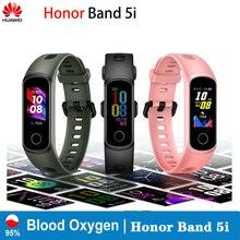 Huawei reloj inteligente Honor Band 5i, pulsera inteligente deportiva con control del sueño, oxígeno en sangre y de la presión sanguínea, AMOLED, Huawei honor