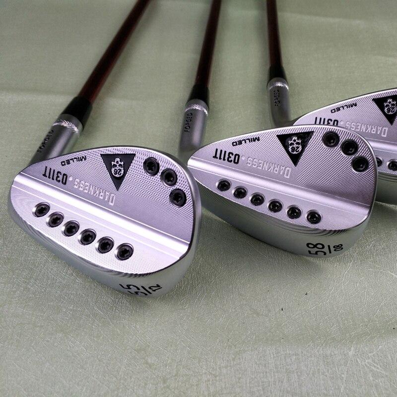 Golf Clubs Sliver 113T Skull Golf Wedges 50-60 Loft R SR S X Graphite Shaft Send Head Cover Free Shipping