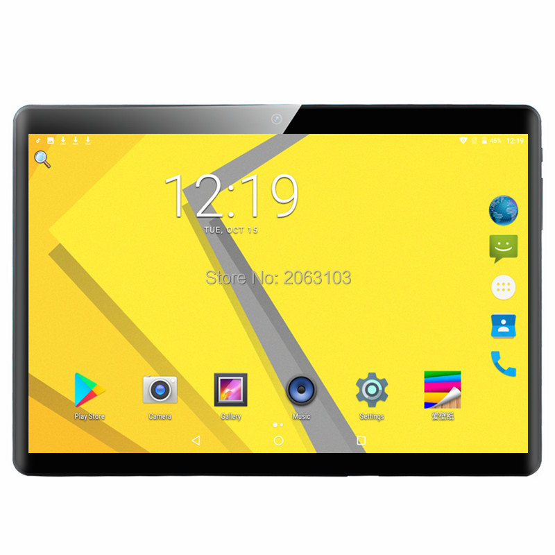 2020 New 10 Inch Tablet PC Deca Core 6GB RAM 128GB ROM Android 9.0 Dual SIM Cards 3G 4G LTE WiFi Bluetooth Tablets 10.1+Gifts