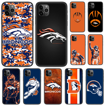 Rugby Denver Bronco Football Phone case For iphone 4 4s 5 5S SE 5C 6 6S 7 8 plus X XS XR 11 PRO MAX 2020 black cover art coque image