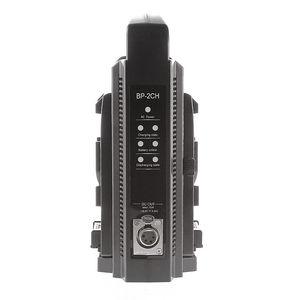 Image 2 - V montar bateria BP 2CH Dual Carregador de Bateria Rápida & Adaptador AC para 14.4 V/14.8 V V mount bateria Sony BP 95W BP 150W BP 190W