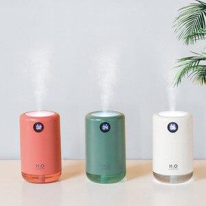 Image 3 - Xiaomi – humidificateur dair ultrasonique sans fil, diffuseur de brume deau aromatique, portable, pour le bureau, la maison, cadeau, 500ml