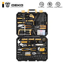 Wrench-Tool-Set Storage-Case Toolbox Dkmt198-Socket DEKO Mixed-Tool-Combination Auto-Repair