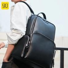 цена на 90FUN POPULAR Women Leather Shoulder Bag Leisure Multifuntion Men Women 15 inch Laptop Backpack Waterproof Teenager Travel Bag