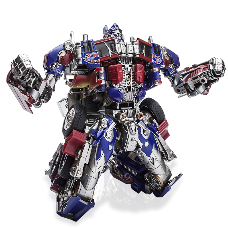 Robot Toy Model Autobot Optimus Prime High Quality Transformer Toys Transformation Metal Alloy Parts Action Figure SS05
