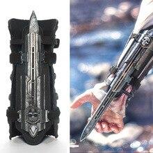 Modelo de brinquedos cosplay neca assassinos creed 4 assassinos creed escondido lâmina brinquedos edward kenway juguete