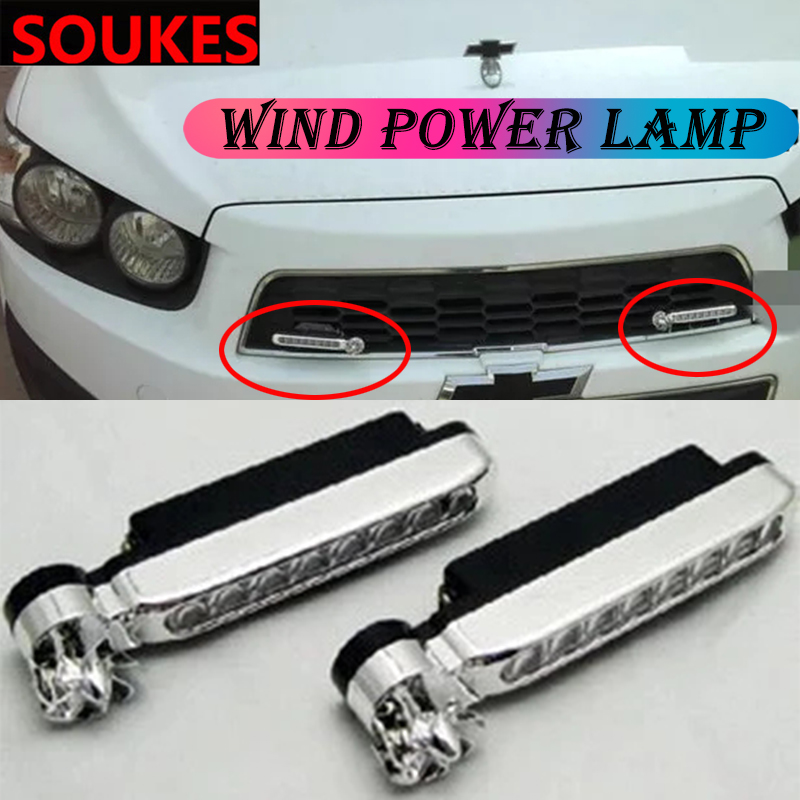 1Pcs Car Front Grilles Racing Trim <font><b>LED</b></font> Lamp For <font><b>Peugeot</b></font> 307 206 308 407 207 2008 3008 508 406 <font><b>208</b></font> Mazda 3 6 2 CX-5 CX5 CX-7 image