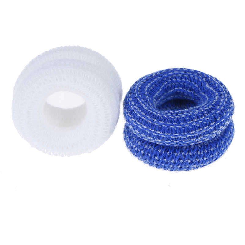 10Pcs/set Finger Bandage Finger Bobs Cots Buddies Dressings First Aid Tubular Bandage For Use Beneath A Finger Cot 15x600mm