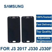 For Samsung Galaxy J3 2017 J330 J330F Phone LCD Di
