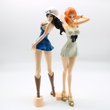 Anime One Piece Japanese Robin Nami GK PVC Action Figure Sexy Girl Doll Model Toys PVC Action Figure Toys Collection Doll Gift 1pcs 20cm pvc japanese sexy anime figure expelled from paradise angela balzac action figure collectible model toys brinquedos