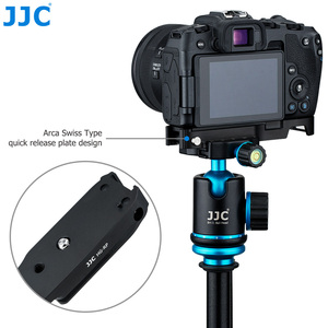 Image 4 - JJC Extension Grip For Canon EOSRP EOS RP Camera Holder Arca Swiss Type Quick Release Plate Anti Slip Pad Replaces Canon EG E1