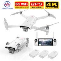 2020 nuova versione X8SE Camera Drone RC Helicopter 8KM FPV 3 assi Gimbal 4K Camera HDR Video GPS Drone Quadcopter RTF nuova versione