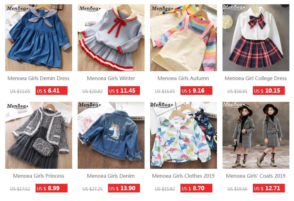 Menoea Children Clothing Suits 19 Autumn Fashion Style Girl Cowboy Long-Sleeve Mesh Dress Design For 3-8Y Kids Girls Sets 55