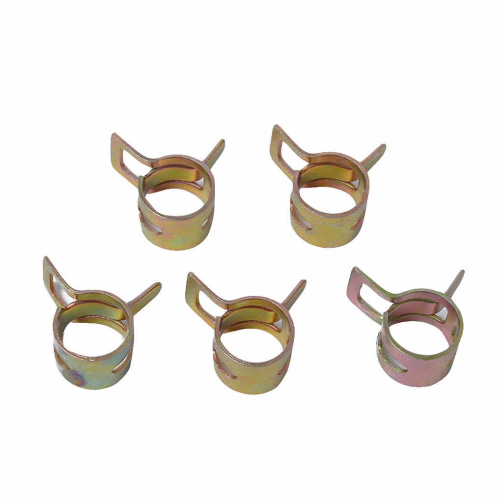 Hose Clamp 5-16mm Car /& Truck Spring Clips Fuel Oil Water Hose Clip Pipe Tube Clamp Fastener Cooling Systems Parts Accessories 10Pcs//Lot Hose Pipe Clamp Size : 8mm