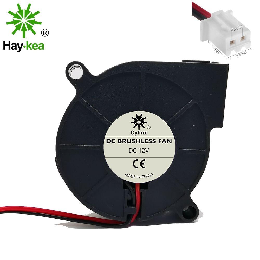 5pcs DC 24V Bearing Cooling Cooler Blower Radial Fan for 3D Printer Parts
