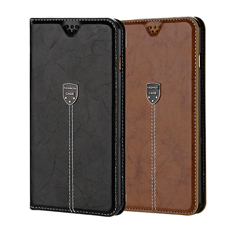 Luxury Leather Case for Cubot P20 R9 R11 X19 Note S X18 Plus case for Cubot Magic Rainbow 2 Flip Stand Wallet Protect Cover(China)