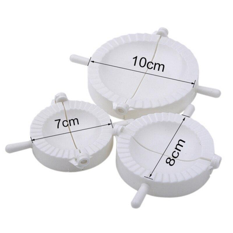 3 шт./компл. «сделай сам», устройство для изготовления пельменей, пресс для теста, Равиоли, форма для пельменей, кондитерские инструменты, акс...