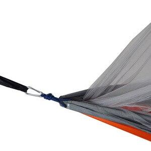 Image 3 - ใหม่ล่าสุดแฟชั่นที่มีประโยชน์เปลญวนเดี่ยวร่มชูชีพผ้ายุงสุทธิสำหรับในร่มกลางแจ้งแคมป์ใช้