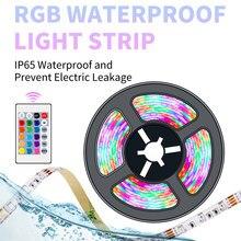 Bande lumineuse Led RGB 5V USB, ruban néon, rétro-éclairage de la télévision, RGBW, éclairage de noël, décoration de la maison, 2835SMD