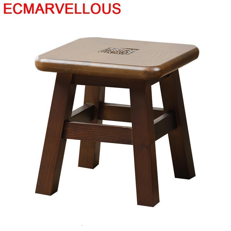 Footstool Ottoman Cover Kid Furniture Penteadeira Camarim Rangement Dressing Madera Poef Tabouret Taburete Sgabello Stool