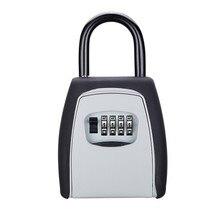 Caja de almacenamiento para llaves, seguridad, Organizador