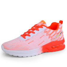 2020 New Running Shoes Breathable Light Comfortable Womens Sneakers Non slip Wear resisting Height Increasing Women Sport Shoes