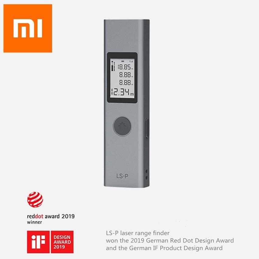 Оригинальный Xiaomi DUKA лазерный дальномер 25/40 м LS-P/LS-1S портативное зарядное устройство USB высокая точность измерения лазерный дальномер