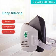 20 sztuk filtr maska przeciwpyłowa respirator pół maska przeciwpyłowa maska przeciwpyłowa anty budynek przemysłowy pył haze gaz bezpieczeństwa maska tanie tanio protect CN (pochodzenie)