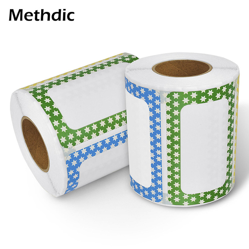 Methdic B Stlye250 Stickers/ Roll Adhesive Name Tag Label Sticker