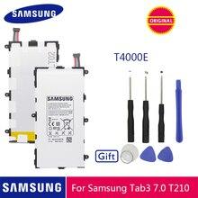 SAMSUNG Original Battery T4000E 4000mAh For Samsung Galaxy Tab 3 7.0 T211 T210 T215 T210R T217A SM T210R T2105 P3210 P3200