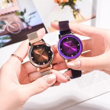 Klasyczne zegarki dla kobiet zegarek analogowy zegarek kwarcowy na rękę zegarek zegarki na rękę diament siatka ze stali nierdzewnej pasek Femme zegarek na rękę relogio tanie i dobre opinie saatleri Podwójny Wyświetlacz Bransoletka zapięcie CN (pochodzenie) Ze stopu Nie wodoodporne Moda casual 16mm ROUND