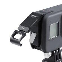 Ulanzi Tapa de batería recargable G8 7 para Gopro Hero 8, cubierta de batería negra, puerto de carga de puerta de batería para Gopro 8, accesorios de cámara