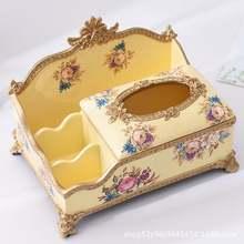 Коробка для салфеток из смолы держатель роскошная коробка ткани