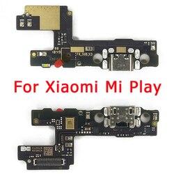 Oryginalna płyta ładowania USB dla Xiaomi Mi Play złącze dokowania PCB Flex Cable wymiana części zamiennych Port ładowania dla Mi Play