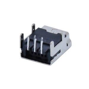 "Image 3 - 10Pcs מיני USB סוג B 5 פינים שקע נקבה אנכי/אופקי מח""ש שקע מחבר עבור זנב טעינה"