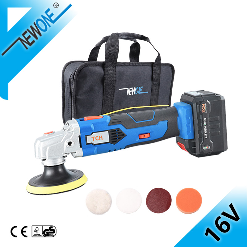 16V DC Polishing Machine With Sponges Soft And Polisher Pad For Clean Car Floor Polisher Machine In Automotive Polishing Machine