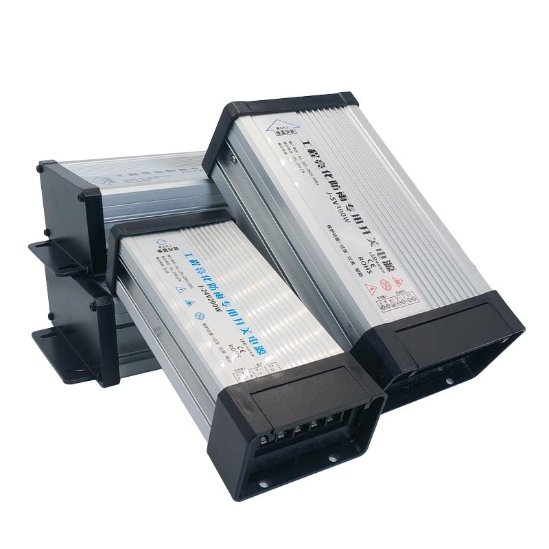 5 12 24 V Volt alimentation à découpage ca cc 5v 12V 24 V alimentation 5A 8A 10A 15A 20A 220V à 5V 12V 24 V extérieur étanche à la pluie SMPS