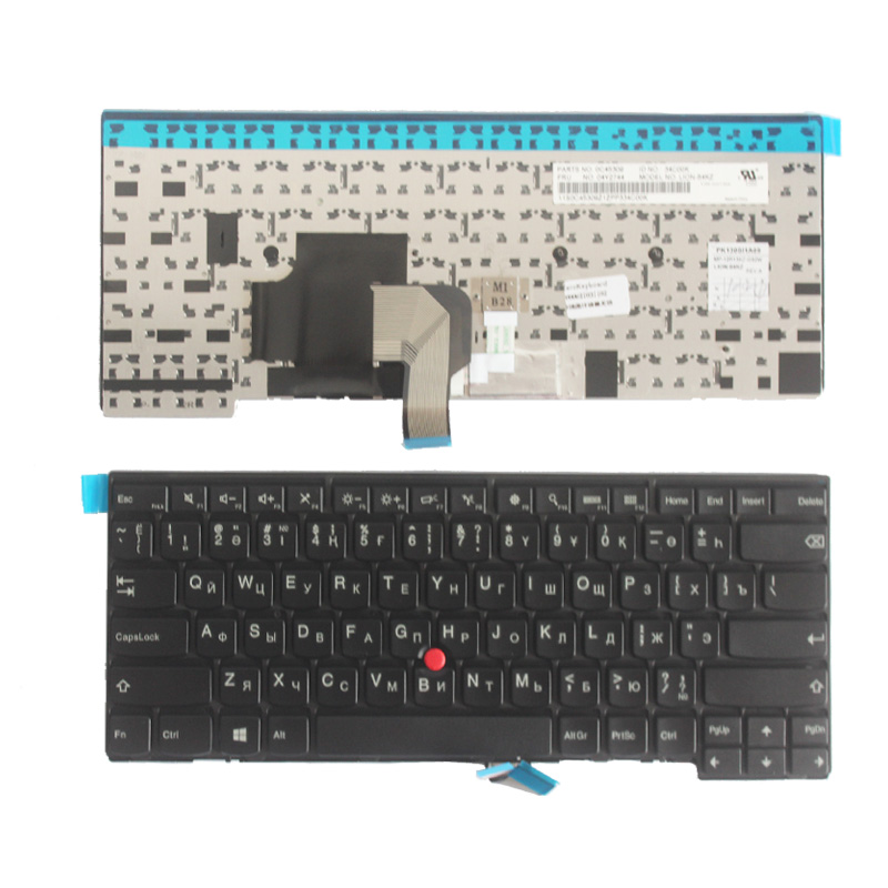 New KZ/Kazakhstan/Russian Laptop Keyboard For Lenovo L440 L450 L460 T431 T431S T440 T440P T440S T450 T450S E431 E440 Non-backlit