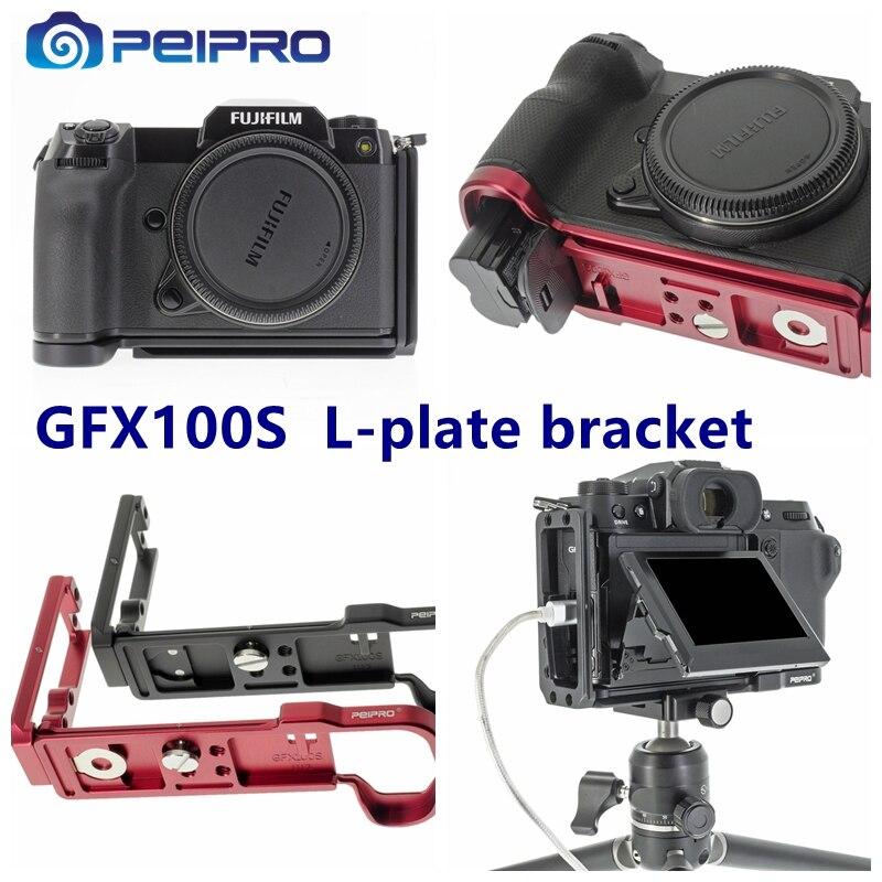 Peipro Luftfahrt legierung aluminium quick Release L-platte halterung kamera Hand Grip für GFX100S kamera
