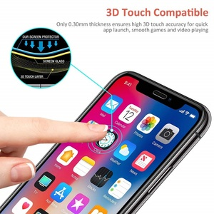 Image 5 - 10pcs Full Screen Glue Tempered Glass for iPhone 11 Screen Protector iPhone 11 Pro Max 6.5inch 5.8in 6.1  Protective Film