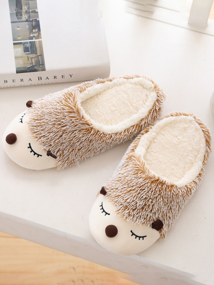 Color Plush Slippers Women Home Floor Cotton Slippers Warm Autumn Winter Ladies Slippers for Home Casual Indoor Shoes VT1304 (5)