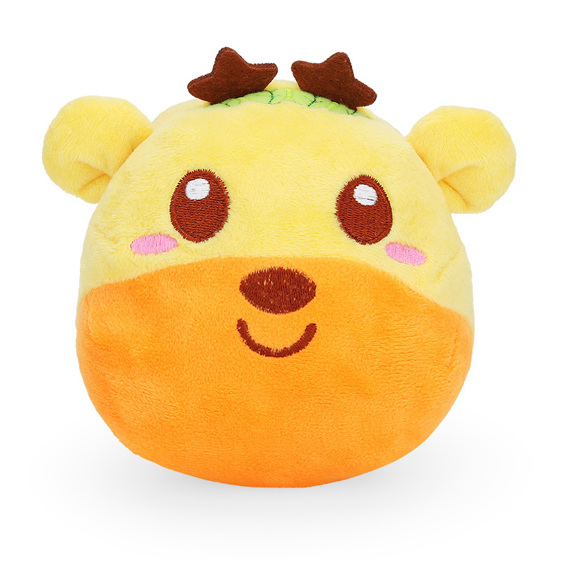 USB Charging Recording Plush Doll Vibration Ball Cute Electric Music Deer Plush Toy Children Kids Gift