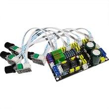 HIFI OPA2604 Preamp حجم لهجة لوحة تحكم قناة ستيريو ضبط مجلس C6 012