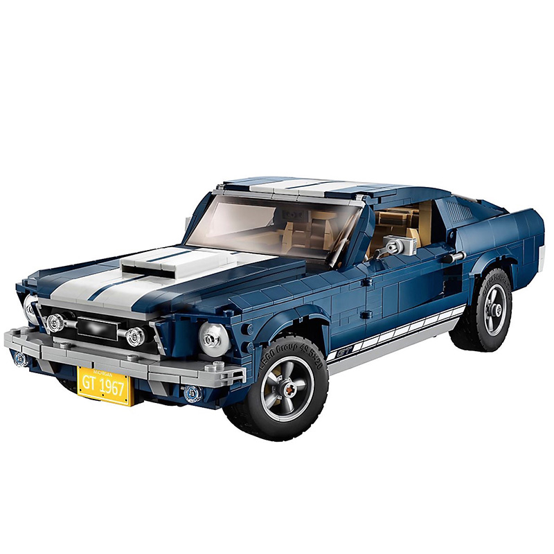 In Stock Ford Mustang 10265 Compatible Creator Expert Building Blocks Bricks Toys Gifts For Kids Children