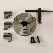 Mandrin de tour à 3 mâchoires 80mm, accessoire de marque SAN OU, 3 pouces pour Mini tour