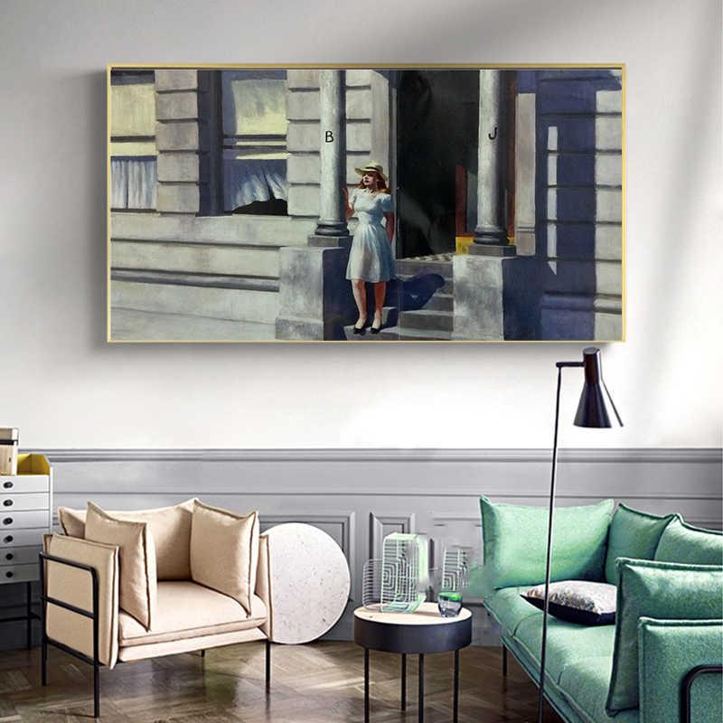 Opere D'arte astratta Riproduzione Artista Magritte Il Bacio Poster e Stampe Su Tela di canapa di Arte Della Parete Della Pittura Immagini Mordern Arredamento Casa