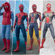 15cm Avengers Super hero SpiderMan toys Homecoming Spider Man PVC action